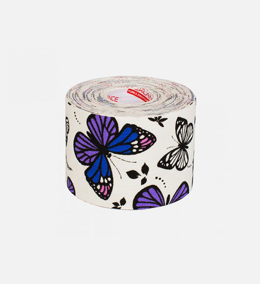 Кинезио тейп BBTape™ 5см × 5м бабочки