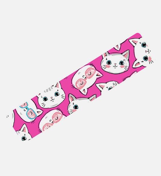 Кинезио тейп BBTape™ 5см × 5м котята розовый