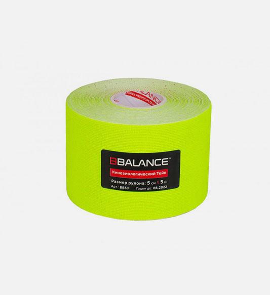 Кинезио тейп BBTape™ 5см × 5м флуоресцентный